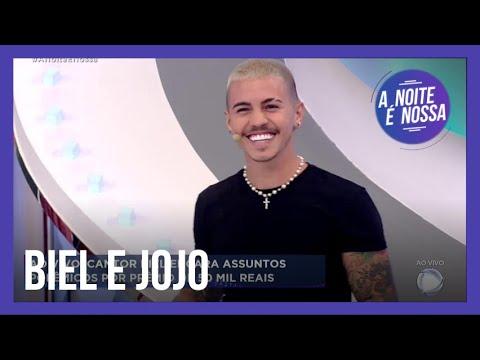 Na estreia do quadro Bola Fora, Biel diz que não virou amigo de Jojo Todynho