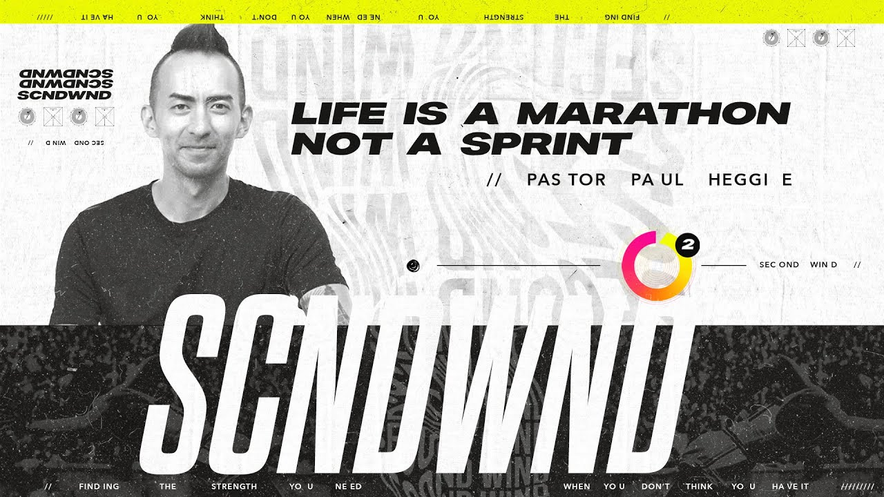 Life Is A Marathon, Not A Sprint