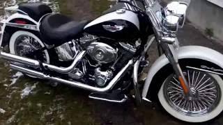 6. Harley-Davidson Softail Deluxe FLSTN 2007