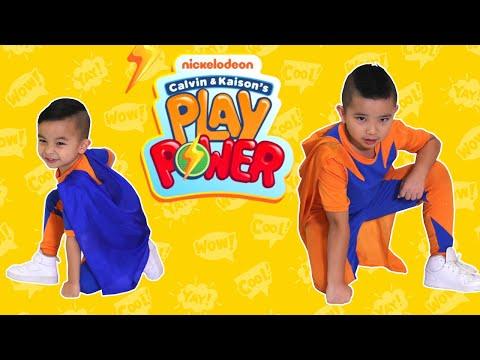 Ep 1 Sneak Peek of Calvin & Kaison's Play Power