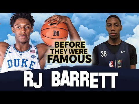 RJ Barrett | Before They Were Famous | NCAA March Madness 2019