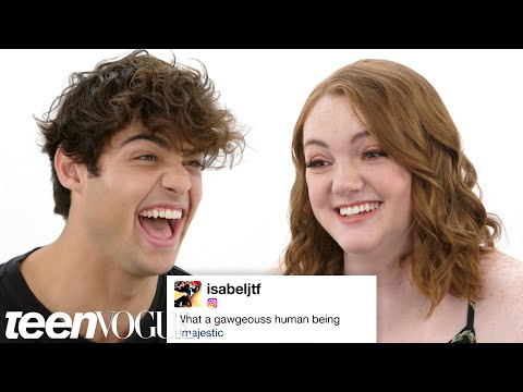 Noah Centineo & Shannon Purser Compete in a Compliment Battle | Teen Vogue