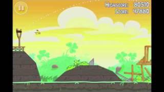 Angry Birds Seasons Go Green, Get Lucky 3 Star Walkthrough Level 18