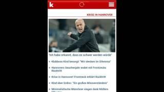 Deutsche Zeitungen YouTube-Video