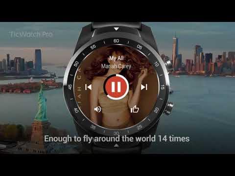Smartwatch  Ticwatch Pro, negru