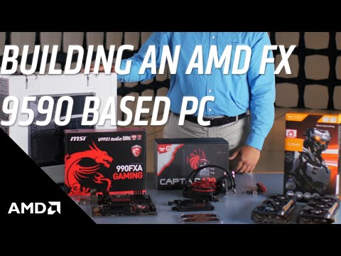 How to Build an AMD FX™ 9590 CPU-based PC