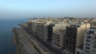 Sliema Malta  City new picture : Sliema Sunset Malta 2016