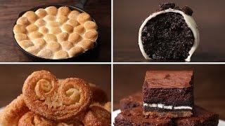 4 Easy 3-Ingredient Desserts by Tasty