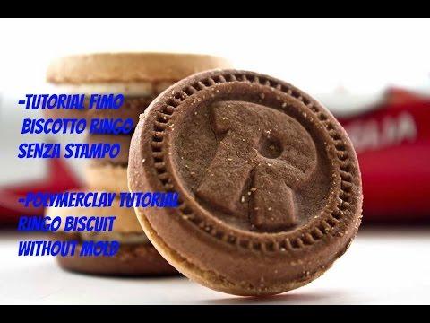tutorial fimo - come realizzare il biscotto ringo