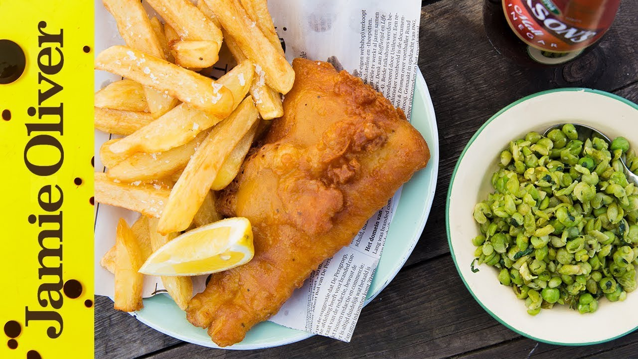 Homemade fish and chips bart van olphen for Terrace fish and chips