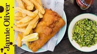 Homemade Fish and Chips | Bart van Olphen by Jamie Oliver