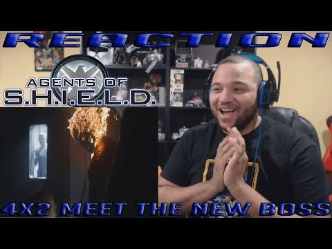Agents of Shield Season 4 Episode 2 - Meet the New Boss - REACTION!!