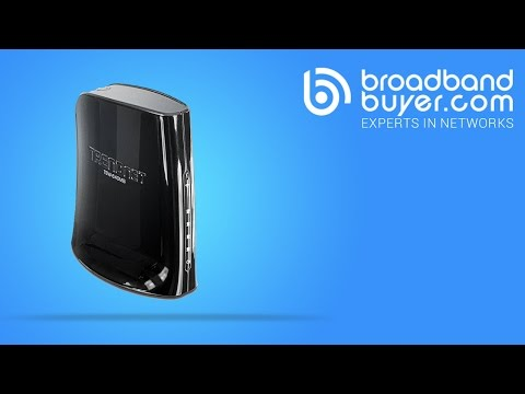 TRENDnet TEW-640MB 4-Port Wireless-N Ethernet Bridge (300Mbps)