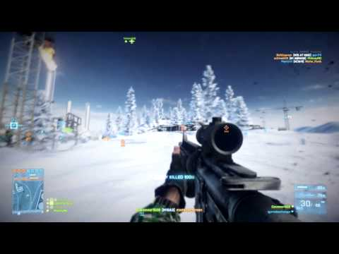Lets Play: Battlefield 3 End Game DLC Motorbike Jumping Pro :)