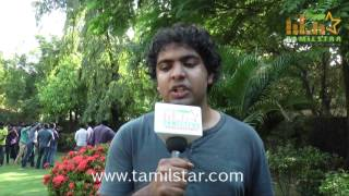 Harish at Nerungi Vaa Muthamidathe Press Meet