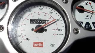 7. Aprilia Scarabeo 125 Acceleration