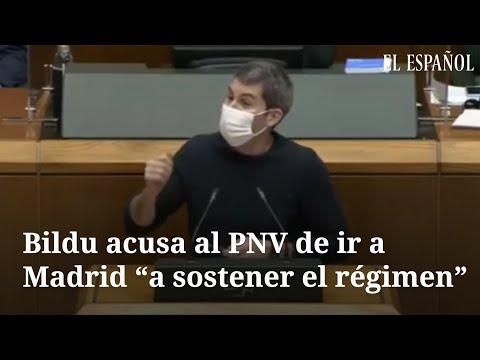 Bildu llama votar que sí a los Presupuestos del gobierno «ir a Madrid a tumbar el régimen»