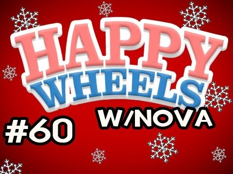 Happy Wheels HOLIDAY MARATHON w/Nova Ep.60 - Enter Santa Claus Video