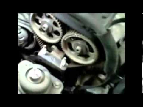 DIY How to replace install timing belt on 2006 Suzuki Forenza