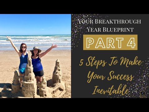 Part 4 of Your Breakthrough Year Blueprint Series: 5 Steps to Make Your Success Inevitable!