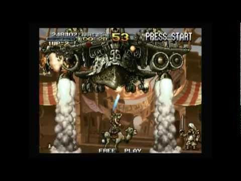 Metal Slug 2 Wii