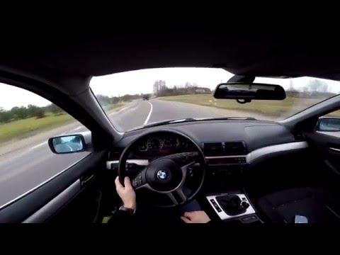 BMW 330D E46 Onboard POV (Gopro)