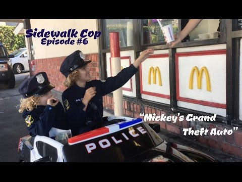 Sidewalk Cop - Episode 6 - Mickey's Grand Theft Auto