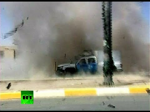 blast - At least 44 people were killed in a series of attacks and blasts across Iraq on Sunday, including a car bomb outside a French consular building. In this vide...