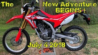 1. Spillin The Beans ! Back to The WOODZ Ride 2018 Honda CRF250L