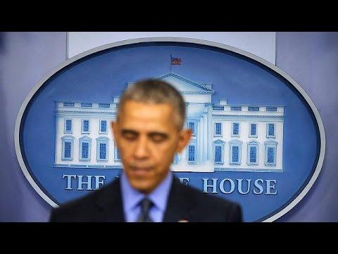 Αποφασισμένος να αντιμετωπίσει την ένοπλη βία ο Μπαράκ Ομπάμα