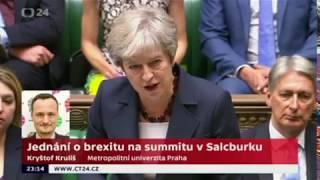 Jednání o brexitu na summitu v Salcburku