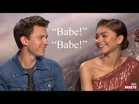 tom holland and zendaya being a married couple for 4 minutes and 12 seconds
