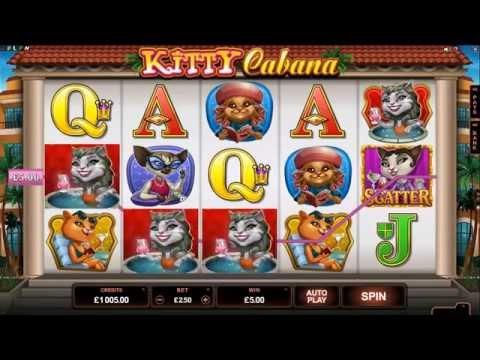 Kitty Cabana Slot - Microgaming Promo Video
