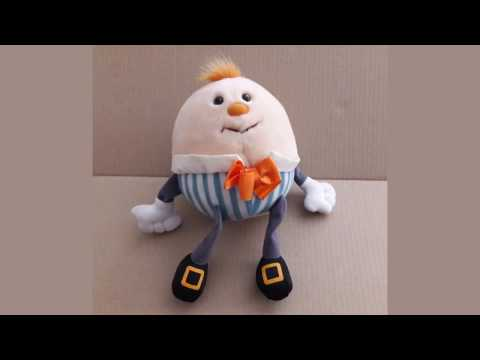 Humpty Dumpty Toy Made in Korea Vintage