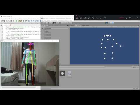 Human Pose Estimation And Unity Integration