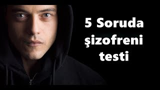 Video 5 Soruda Şizofreni Testi / 2018 MP3, 3GP, MP4, WEBM, AVI, FLV Desember 2018