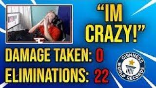 FaZe Tfue *World Record* 22 Kills 0 Damage Taken
