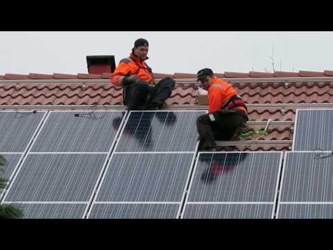 matka24:n toimitukseen<br /> aurinkopaneelit -VIDEO