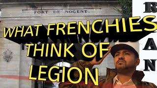 WHAT FRENCH PEOPLE THINK OF FRENCH FOREIGN LEGION INTERNATIONAL ADVERTISEMENT