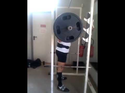 Johnny Davidz - 10@140 kg - Squat