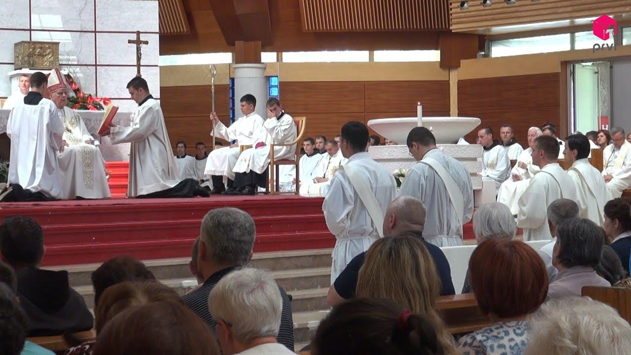 Svećeničko ređenje u Mostaru