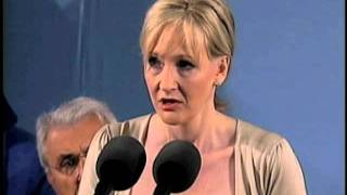 J.K. Rowling Speaks at Harvard Commencement
