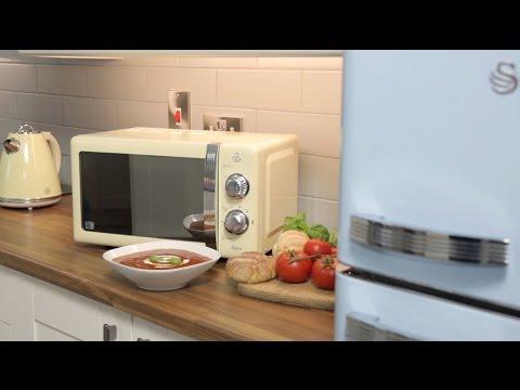 Swan Retro Microwave