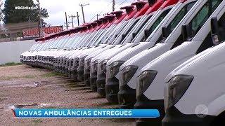 Sorocaba: novas ambulâncias entregues