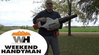 4. #StihlUSA BGA85 Lithium Ion Leaf Blower | The Weekend Handyman