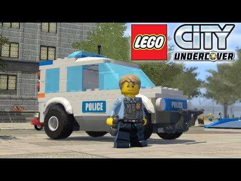 LEGO City Undercover - Lego Police Chase   Police Car gameplay (part 3 - 6)