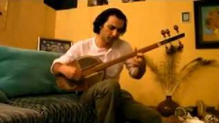Mehdi Amini - A Solo Piece For Saghar ( An Innovative Musical Instrument Made By Maestro Shajarian)