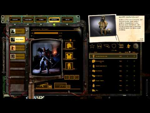 Wasteland 2 Video Shows Off Its Inventory System