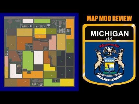 Michigan Map 19 v2.0