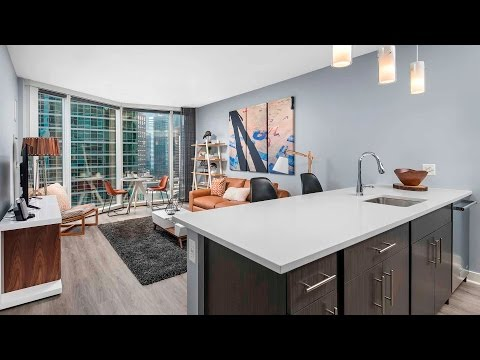 Tour a lake view 1-bedroom at Streeterville's new Moment apartments